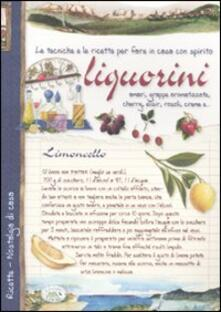 Liquorini - Anastasia Zanoncelli - copertina