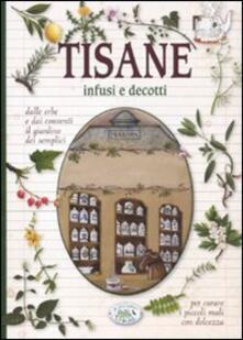 Tisane infusi e decotti - copertina