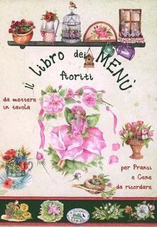 Il libro dei menu fioriti - copertina