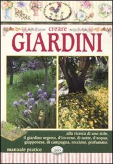 Creare giardini - Eli Sirtori - copertina
