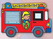 Aboutschuster.de Il camion dei pompieri Image