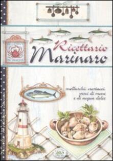 Ricettario marinaro - copertina
