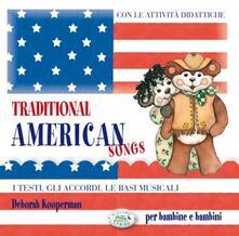 Traditional American songs. CD Audio - copertina