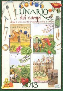 Lunario dei campi 2013 - copertina
