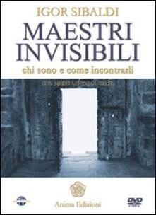 Filmarelalterita.it Maestri invisibili. Chi sono e come incontrarli. Con DVD Image