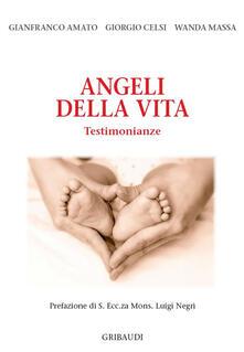 Angeli della vita. Testimonianze - Gianfranco Amato,Giorgio Celsi,Wanda Massa - copertina