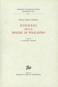 Sinossi della diocesi di Policastro