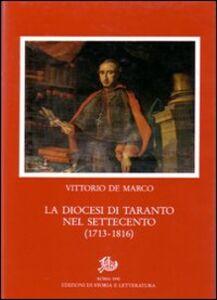 La diocesi di Taranto nel Settecento (1713-1816)