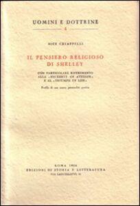 Il pensiero religioso di Shelley