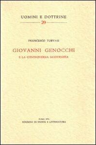 Giovanni Genocchi e la controversia modernista