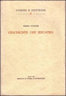 Geschichte der Jesuaten - Georg Dufner - copertina