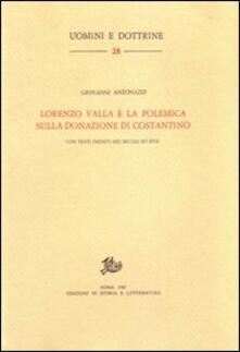 Letterarioprimopiano.it Lorenzo Valla e la polemica sulla donazione di Costantino Image
