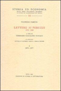 Lettere ai Peruzzi (1872-1900)