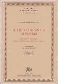 Il lieto annunzio ai poveri. Riflessioni storiche sulla dottrina sociale della Chiesa