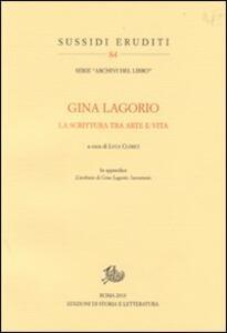 Gina Lagorio. La scrittura tra arte e vita
