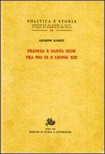 Francia e Santa Sede tra Pio IX e Leone XIII