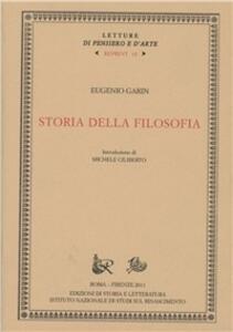 Storia della filosofia