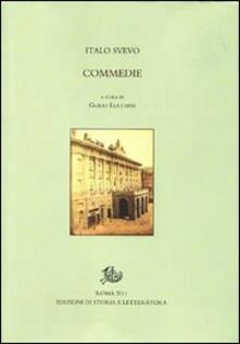 Commedie - Italo Svevo - copertina