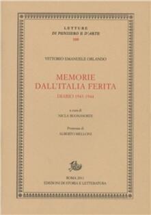 Camfeed.it Memorie dall'Italia ferita. Diario 1943-1944 Image