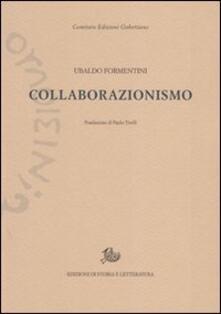 Collaborazionismo - Ubaldo Formentini - copertina