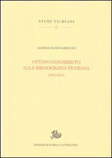 Ottavo contributo alla bibliografia vichiana (2006-2010) - Alessia Scognamiglio - copertina