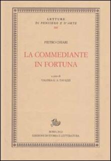 La commediante in fortuna - Pietro Chiari - copertina