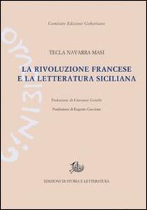 La Rivoluzione francese e la letteratura siciliana