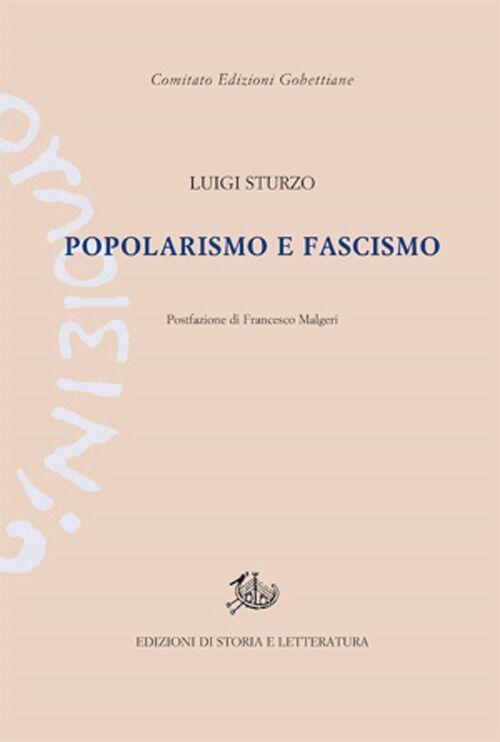 Popolarismo e fascismo