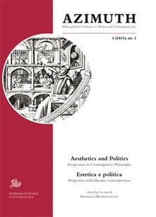 Azimuth (2013). Ediz. italiana e inglese. Vol. 2: Estetica e politica. Prospettive nel pensiero contemporaneo. - copertina