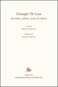 Giuseppe De Luca. A cinquant'anni dalla morte (19 marzo 1962-19 marzo 2012) - copertina