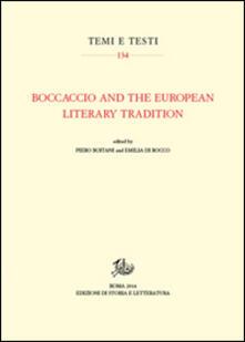 Boccaccio and the european literary tradition - copertina