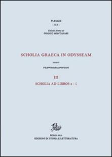 Winniearcher.com Scholia graeca in Odysseam. Ediz. bilingue. Vol. 3: Scholia ad libros e-g. Image