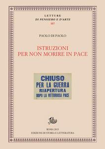 Istruzioni per non morire in pace. Patrimoni, rivoluzioni, teatro - Paolo Di Paolo - ebook