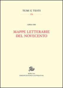 Mappe letterarie del Novecento