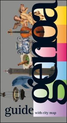 Genoa guide with city map - copertina