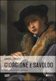 Giorgione e Savoldo. Note di un ritratto amoroso.pdf