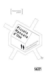 Piccolo manuale d'uso per l'architettura contemporanea
