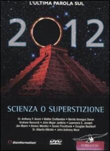 Promoartpalermo.it 2012. Scienza o superstizione. DVD. Con libro Image
