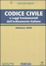 Codice civile e leggi fondamentali dell'ordinamento italiano