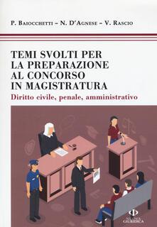 Amatigota.it Temi svolti per la preparazione concorso magistratura. Diritto civile, penale, amministrativo Image