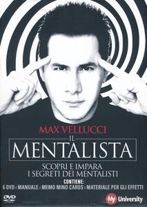 Libro Il mentalista. My Life University. 6 DVD. Con libro Max Vellucci