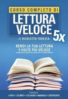 Listadelpopolo.it Corso completo di lettura veloce. Con 6 DVD. Con CD Audio formato MP3 Image