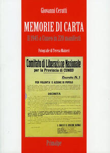 Memorie di carta. Il 1945 a Cuneo in 220 manifesti