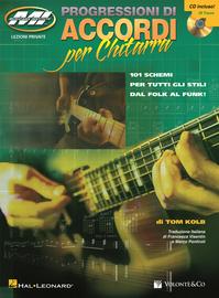 Progressione di accordi per chitarra. Con CD Audio