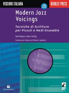 Criticalwinenotav.it Modern jazz voicings. Tecniche di scrittura per piccoli e medi ensemble. Con CD Audio Image