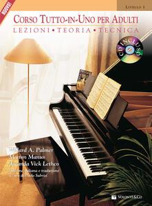 Corso tutto in uno per adulti. Con CD Audio. Vol. 1: Lezioni, teoria, tecnica. - Willard A. Palmer,Morton Manus,Amanda Vick Lethco - copertina