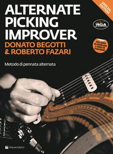 Libro The alternate picking improver. Con CD Audio Donato Begotti , Roberto Fazari