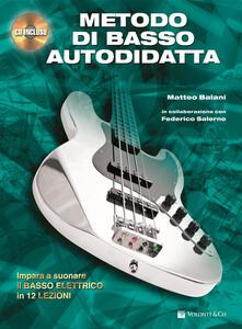 Listadelpopolo.it Metodo di basso autodidatta. Con CD Audio Image