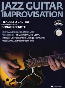 Winniearcher.com Jazz guitar improvisation. Con CD Audio Image