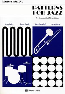 Voluntariadobaleares2014.es Patterns for jazz per strumenti in chiave di basso Image